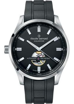 цена Claude Bernard Часы Claude Bernard 85026-3CANV. Коллекция Aquarider Automatic онлайн в 2017 году