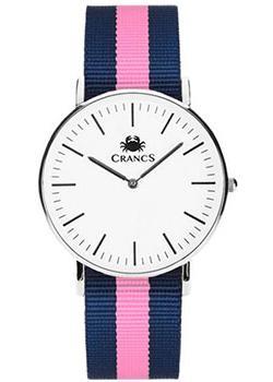 Crancs Часы Crancs 36SWS-Ny36. Коллекция Navy мужские часы crancs 40sws ny36