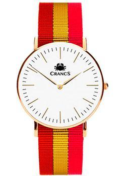 Crancs Часы Crancs 40GWG-Ny42. Коллекция Sotavento платье петербургский швейный дом цвет темно синий красный белый