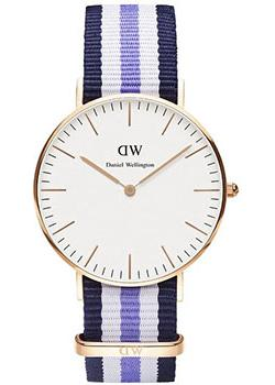 Daniel Wellington Часы Daniel Wellington 0509DW. Коллекция Trinity ремешок для часов daniel wellington dw00200073