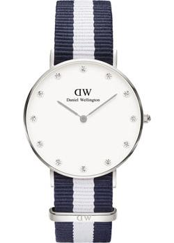 Daniel Wellington Часы Daniel Wellington 0963DW. Коллекция Glasgow декоративные часы wellington an3657
