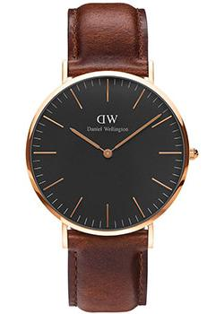 Daniel Wellington Часы Daniel Wellington DW00100124. Коллекция Classic Black St Mawes цена и фото