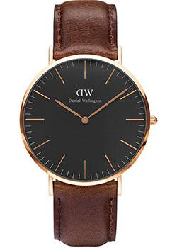 Daniel Wellington Часы Daniel Wellington DW00100125. Коллекция Classic Black Bristol цена и фото