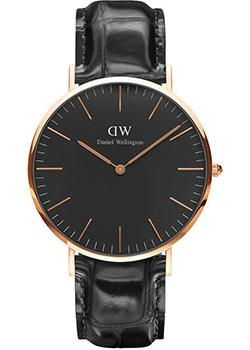 Daniel Wellington Часы Daniel Wellington DW00100129. Коллекция Classic Black Reading часы daniel wellington