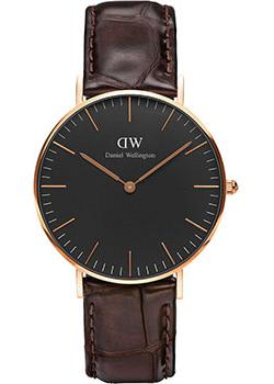 Daniel Wellington Часы Daniel Wellington DW00100140. Коллекция Classic Black York daniel wellington часы daniel wellington dw00100141 коллекция classic black reading