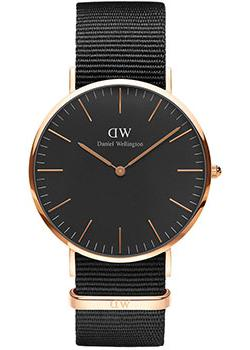 Daniel Wellington Часы Daniel Wellington DW00100148. Коллекция Classic Black Cornwall