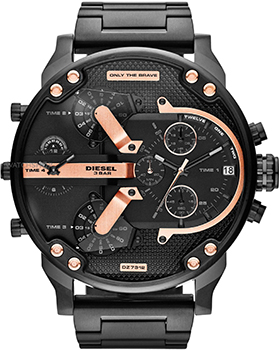Diesel Часы Diesel DZ7312. Коллекция Mr. Daddy mineral crystal glass for diesel mr big daddy chronograph man watch dz7395 7370