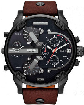 Diesel Часы Diesel DZ7314. Коллекция Mr. Daddy mineral crystal glass for diesel mr big daddy chronograph man watch dz7395 7370