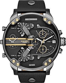 Diesel Часы Diesel DZ7348. Коллекция Mr. Daddy mineral crystal glass for diesel mr big daddy chronograph man watch dz7395 7370