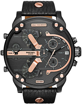 Diesel Часы Diesel DZ7350. Коллекция Mr. Daddy mineral crystal glass for diesel mr big daddy chronograph man watch dz7395 7370