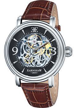 Thomas Earnshaw Часы Thomas Earnshaw ES-8011-02. Коллекция Longcase thomas earnshaw часы thomas earnshaw es 8001 33 коллекция investigator