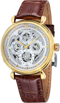 цена Thomas Earnshaw Часы Thomas Earnshaw ES-8043-03. Коллекция Grand Calendar онлайн в 2017 году
