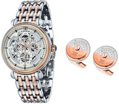 цена Thomas Earnshaw Часы Thomas Earnshaw ES-8043-SETB-03. Коллекция Grand Calendar онлайн в 2017 году