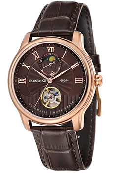 Thomas Earnshaw Часы Thomas Earnshaw ES-8066-04. Коллекция Longitude Moonphase thomas earnshaw часы thomas earnshaw es 8039 01 коллекция academy