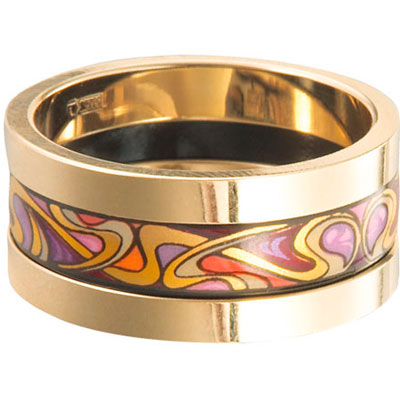 Золотое кольцо Ювелирное изделие AM-1423-2
