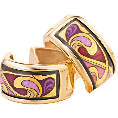 Золотые серьги Ювелирное изделие AM-1492XX-772T