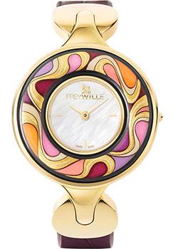 FREYWILLE Часы FREYWILLE AM_400HL1-2_GO1. Коллекция Посвящение Альфонсу Мухе freywille часы freywille pr 400hl1 1