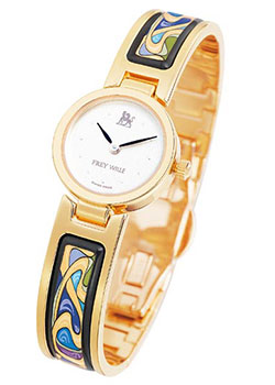 FREYWILLE Часы FREYWILLE AM_400PD1-1_GO1. Коллекция Посвящение Альфонсу Мухе freywille часы freywille pr 400hl1 1
