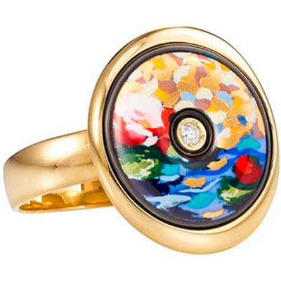 Золотое кольцо Ювелирное изделие CM-1412PS-4511