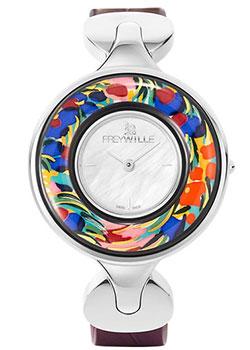 FREYWILLE Часы FREYWILLE CMB_800HL1-9_SV1. Коллекция Посвящение Клоду Моне freywille часы freywille pr 400hl1 1