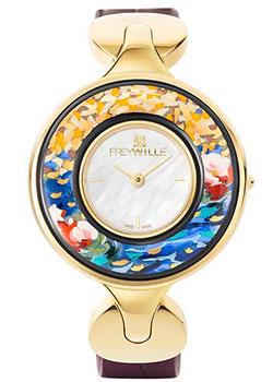 FREYWILLE Часы FREYWILLE CM_400HL1-11_GO1. Коллекция Посвящение Клоду Моне freywille часы freywille pr 400hl1 1