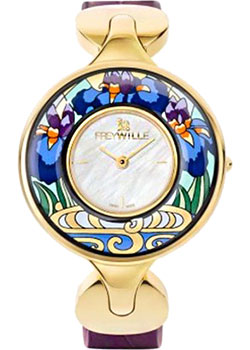 FREYWILLE Часы FREYWILLE CM_400HL1-2_GO1. Коллекция Посвящение Клоду Моне freywille цепочка омега