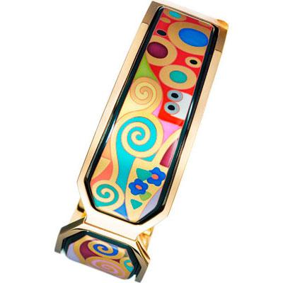 Золотой браслет Ювелирное изделие GK-467-5 три энергии забытые каноны здоровья и гармонии