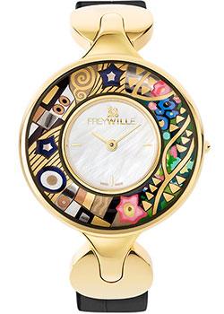 FREYWILLE Часы FREYWILLE GK_400HL1-11_GO1. Коллекция Посвящение Густаву Климту freywille цепочка омега