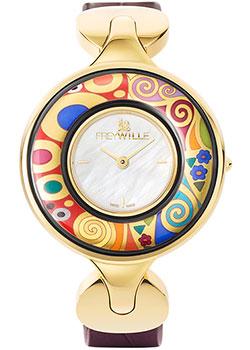 FREYWILLE Часы FREYWILLE GK_400HL1-5_GO1. Коллекция Посвящение Густаву Климту freywille серебристая цепочка