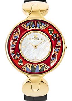 FREYWILLE Часы FREYWILLE PE_400HL1-5_GO1. Коллекция Фараон freywille цепочка омега