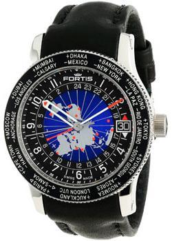 Fortis Часы Fortis 674.21.11L.01. Коллекция B-47 World Timer