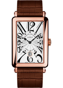 Часы Franck Muller Long Island 1200_SC_DT-gold-brown