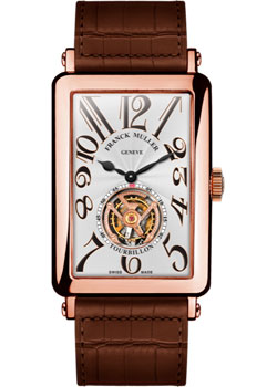Часы Franck Muller Long Island 1200_T-gold-brown