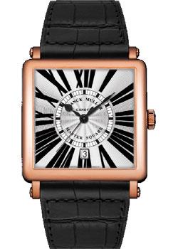 Franck Muller Часы Franck Muller 6000_H_SC_DT_R-gold-black franck muller часы franck muller 1200 sc dt gold black