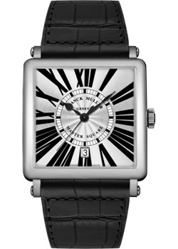 Franck Muller Часы Franck Muller 6000_H_SC_DT_R-steel-black franck muller часы franck muller v 45 s s6 steel