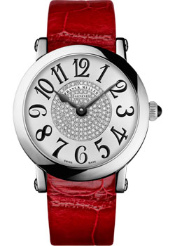 Часы Franck Muller Round 8038_QZ_CD_1P-red