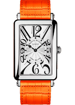 Часы Franck Muller Long Island 952_QZ-orange