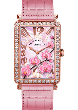 Часы Franck Muller Flower Collection 952_QZ_ORC_D_1R-red-gold-pink