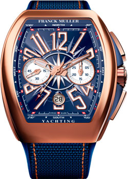 Часы Franck Muller Vanguard Yachting V45_CC_DT_YACHTING-gold