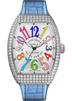 Часы Franck Muller Vanguard Lady V_32_SC_AT_FO_COL_DRM_D_RS-steel