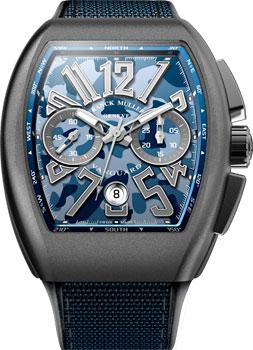 Franck Muller Часы Franck Muller V_45_CC_DT_CAMOU-blue franck muller часы franck muller 6002 m qz r steel