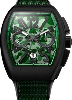 Franck Muller Часы Franck Muller V_45_CC_DT_CAMOU-green franck muller часы franck muller 6002 m qz r steel
