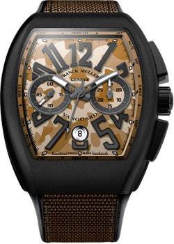 Franck Muller Часы Franck Muller V_45_CC_DT_CAMOU-sable franck muller часы franck muller 6002 m qz r steel