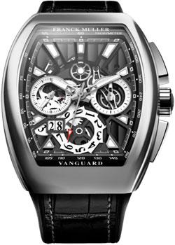 Franck Muller Часы Franck Muller V_45_CC_GD_SQT_BR-steel franck muller часы franck muller 8083 cc gd fo steel
