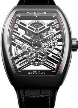 Franck Muller Часы Franck Muller V_45_S6_SQT-steel franck muller часы franck muller v 32 sc at fo d cd bl steel