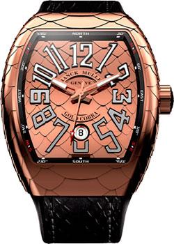 Franck Muller Часы Franck Muller V_45_SC_DT_COBRA-gold franck muller часы franck muller 1200 sc dt gold black