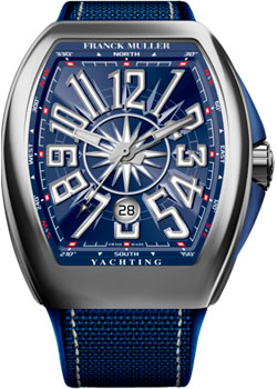 Franck Muller Часы Franck Muller V_45_SC_DT_YACHTING-steel franck muller часы franck muller v 45 s s6 steel