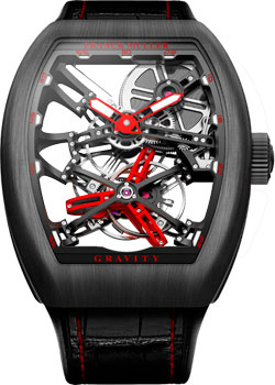 Часы Franck Muller Vanguard Graviti V_45_T_GRAVITY_CS_SQT-red