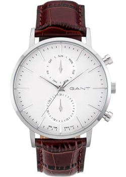 Gant Часы Gant W11201. Коллекция Park Hill II Day/Date tevise automatic mechanical tourbillon watch men luxury auto date day month stainless steel mens wristwatch horloges mannen