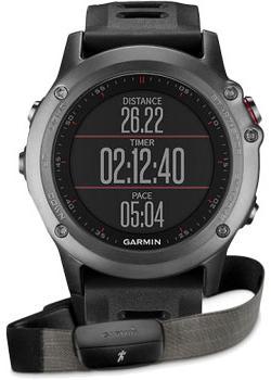 Garmin Умные часы Garmin 010-01338-11. Коллекция Fenix 3 навигатор часы garmin fenix 3 sapphire 010 01338 21
